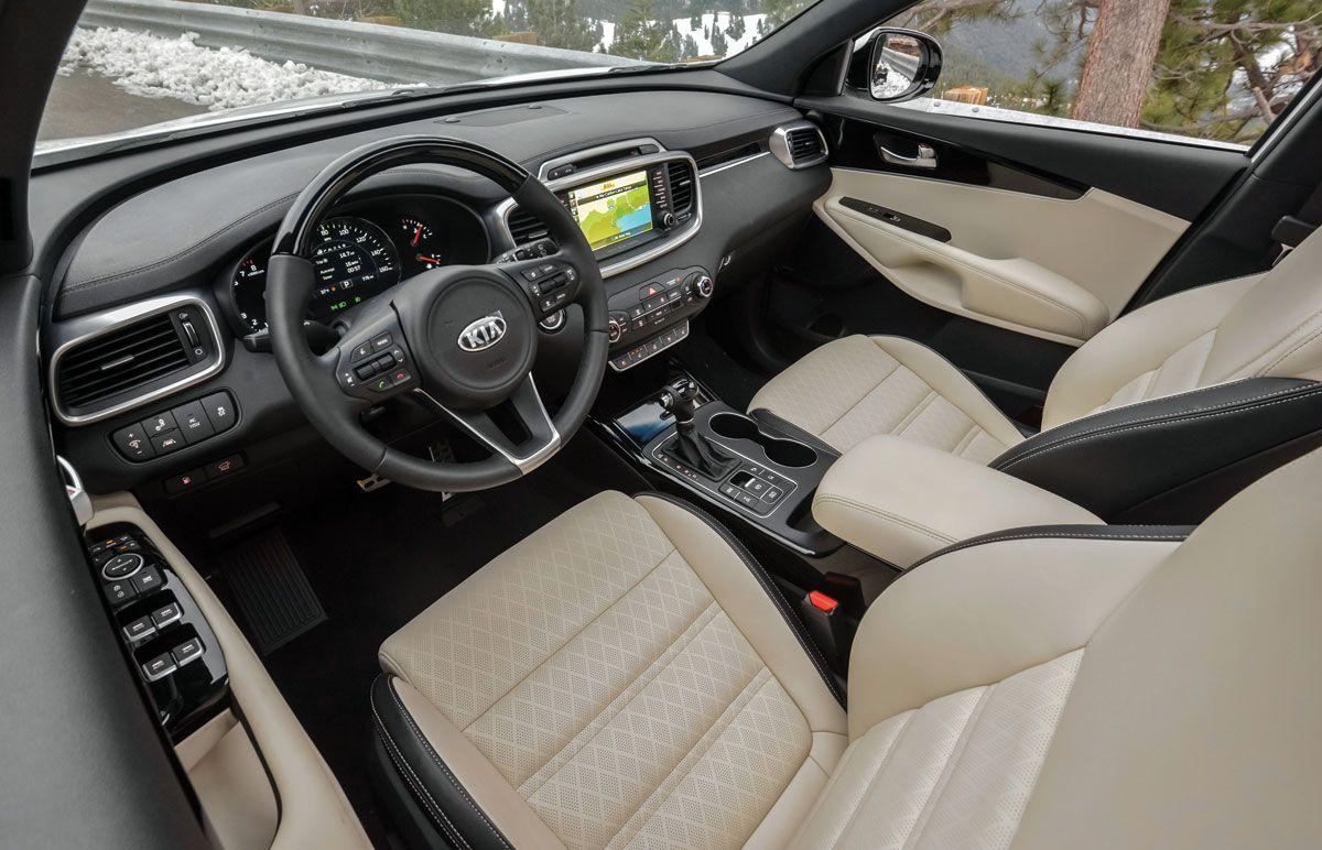 2016 Kia Sorento Sxl V6 Awd Kia Sorento Kia Sorento Interior Kia Sedona