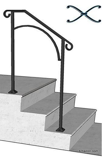Best Stair Hand Rails For Porches And Decks Porch Step 400 x 300