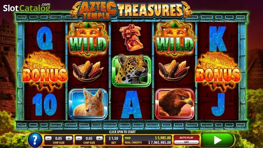 Spiele Aztec Temple Treasures - Video Slots Online