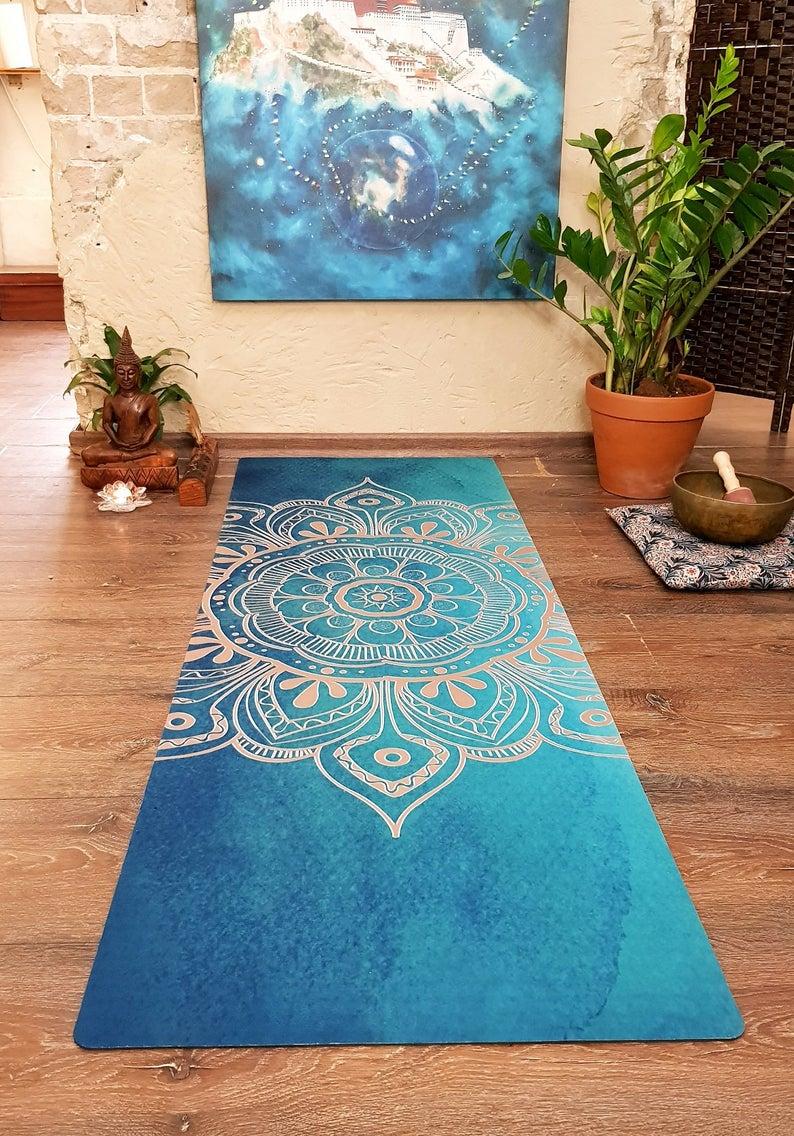 Mandala Of Light Printed Yoga Mat