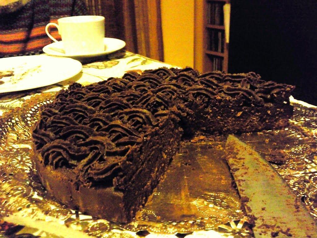 Tarta De Trufa Chocolate Receta Casera Golosolandia Te