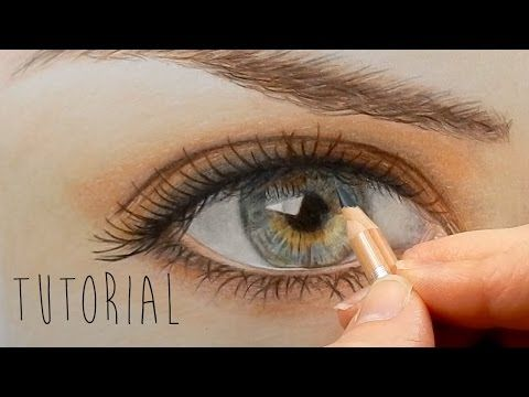 Tutorial | How to draw, color a realistic nose with colored pencils - step by step | Emmy Kalia - YouTube