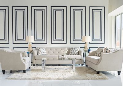 Sofia Vergara Monaco Court Oyster 5 Pc Living Room Find Fascinating Affordable Living Room Designs Design Decoration