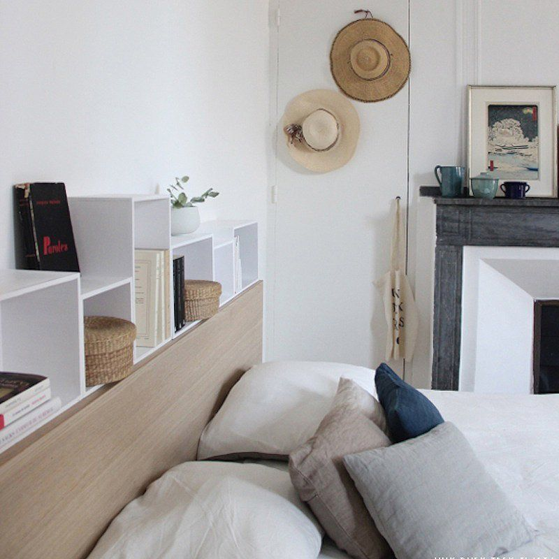 10 diy pour fabriquer une t te de lit bedrooms decoration and room tour. Black Bedroom Furniture Sets. Home Design Ideas