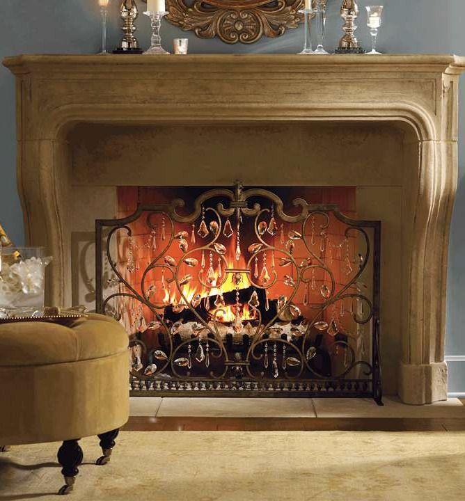 louviere fireplace screen cold remedy pinterest fireplace rh pinterest com