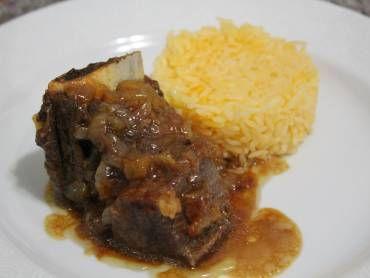 Costela Na Panela De Pressao Recipe Food Beef Rice