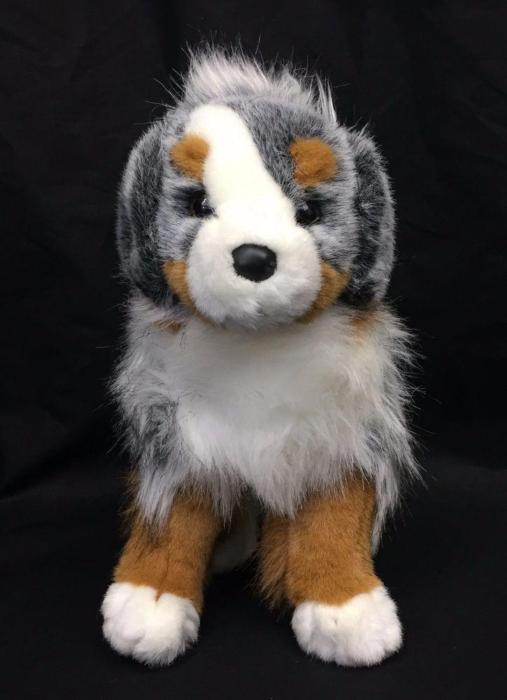 Douglas Cuddle Toy Sinclair Australian Shepherd Puppy Dog 13