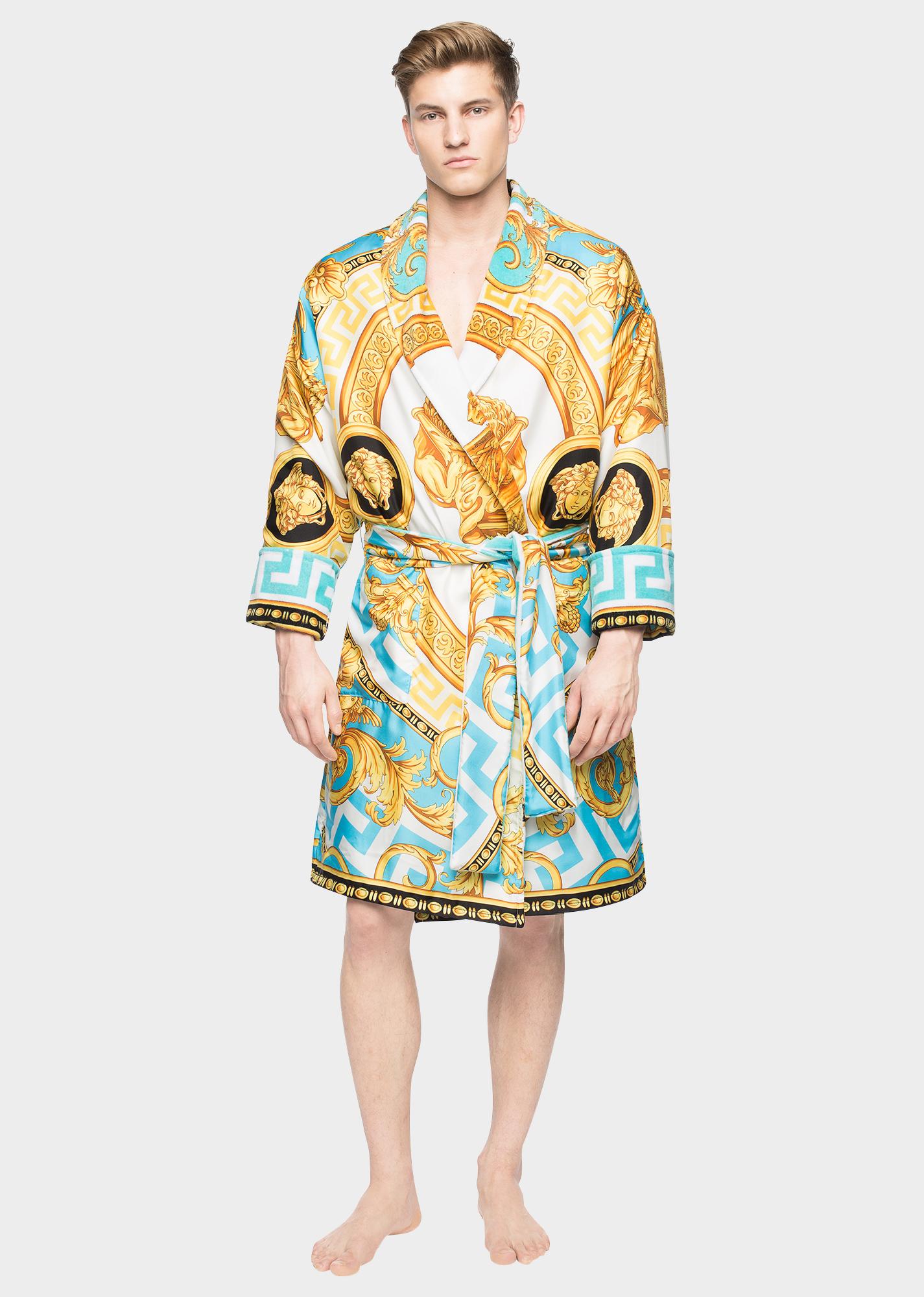 cheap stylish design purchase genuine La Coupe des Dieux Silk Bathrobe - Home Collection | US ...