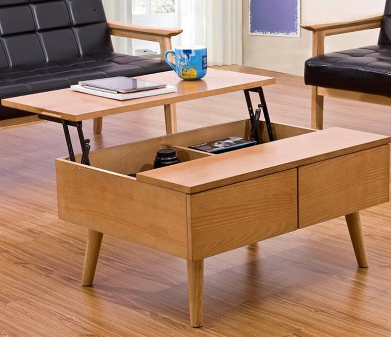 Awesome Convertible Coffee Table Dining Danish Desk