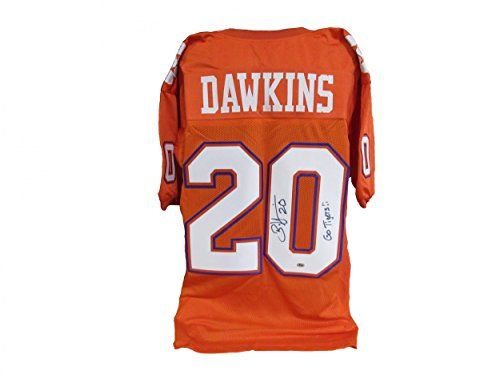 premium selection fcfe8 aef13 Brian Dawkins Clemson Tigers Authentic Jerseys | Cool ...