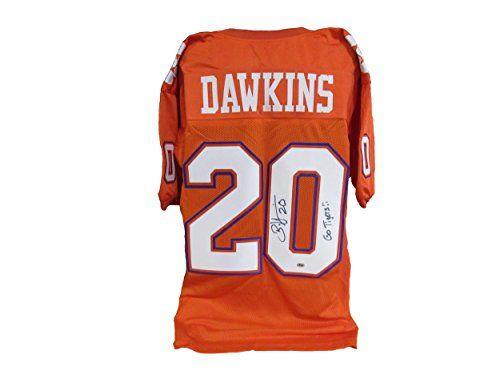 premium selection 51afd 1705e Brian Dawkins Clemson Tigers Authentic Jerseys | Cool ...
