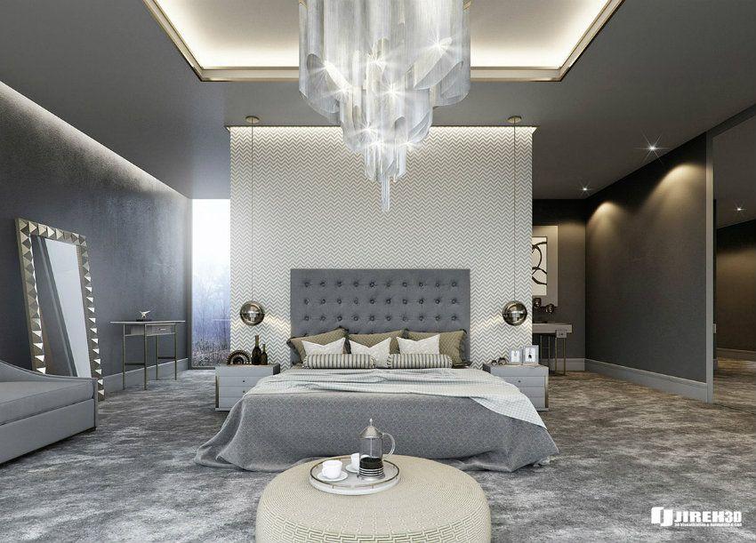 TOP 10 Luxusbetten Für Schlafzimmer | Graue Zimmer Ist Ein Trend.  Innenarchitektur Wohnzimmer Und Schlafzimmer Einrichten Inspiration. ...