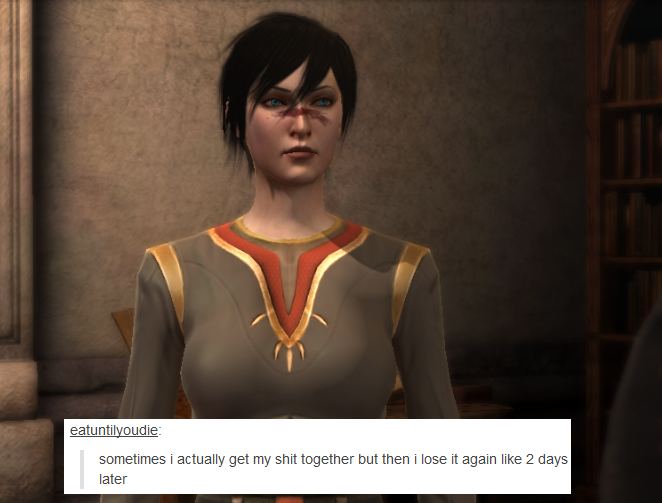 welcome to the mage hell spiral — Dragon Age II + text posts – Marian Hawke (again) ...