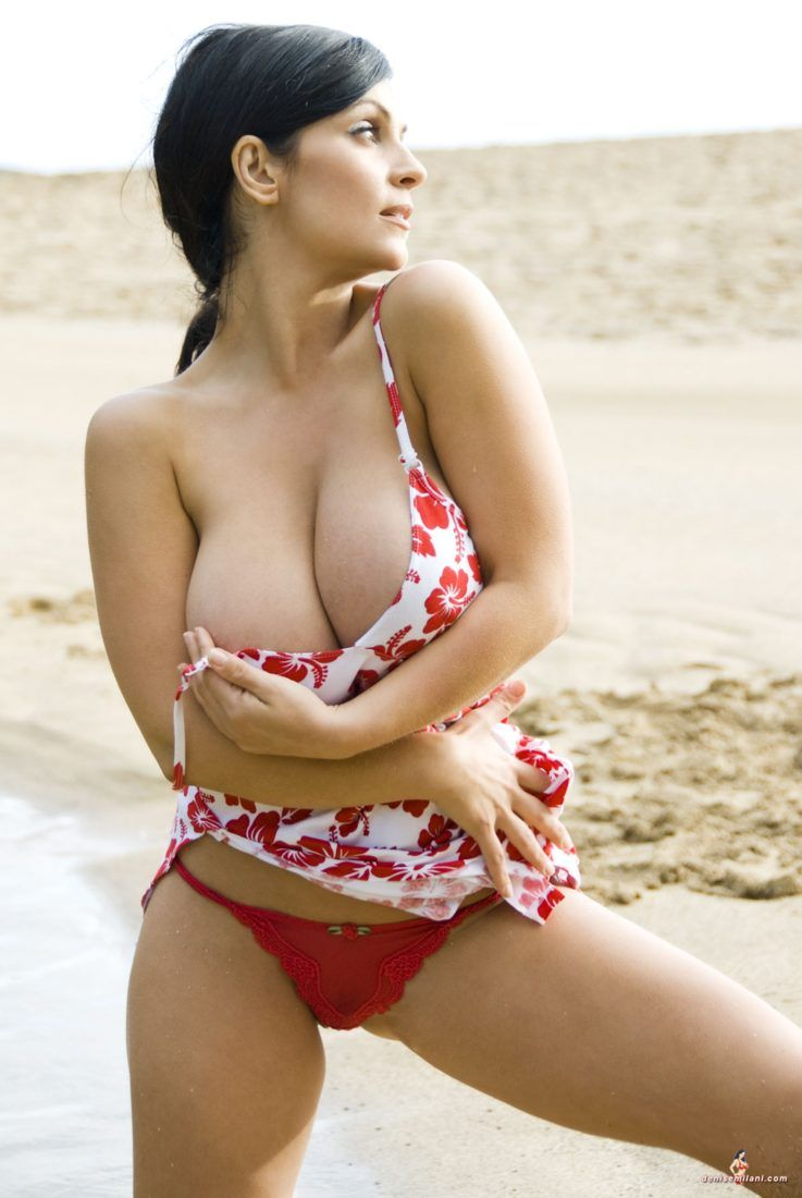Denise milani niple slip