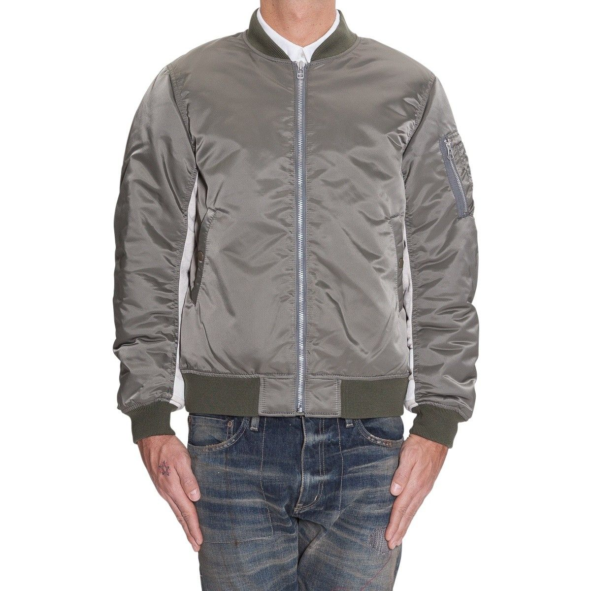 Details about ADIDAS ORIGINALS BY ALEXANDER WANG Reversible Bomber Jacket Fleece Sherpa size S