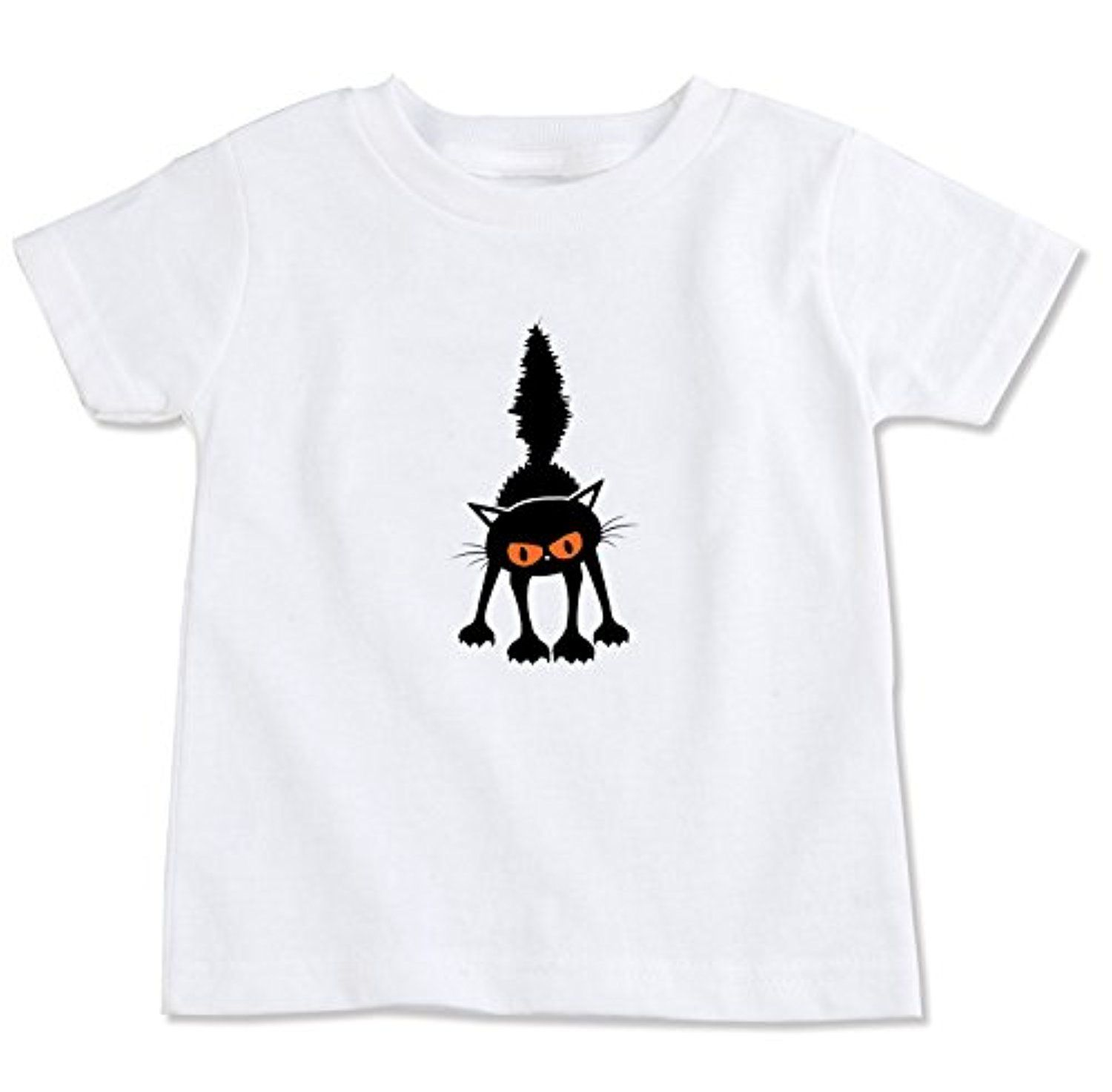 Scary Cat Organic Cotton Toddler T-Shirt -- Awesome products selected by Anna Churchill