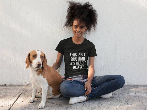 This Isn T Dog Hair It S Beagle Glitter T Shirt Dog Lover Unisex T