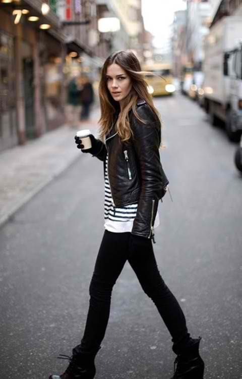 to find the perfect leather jacket