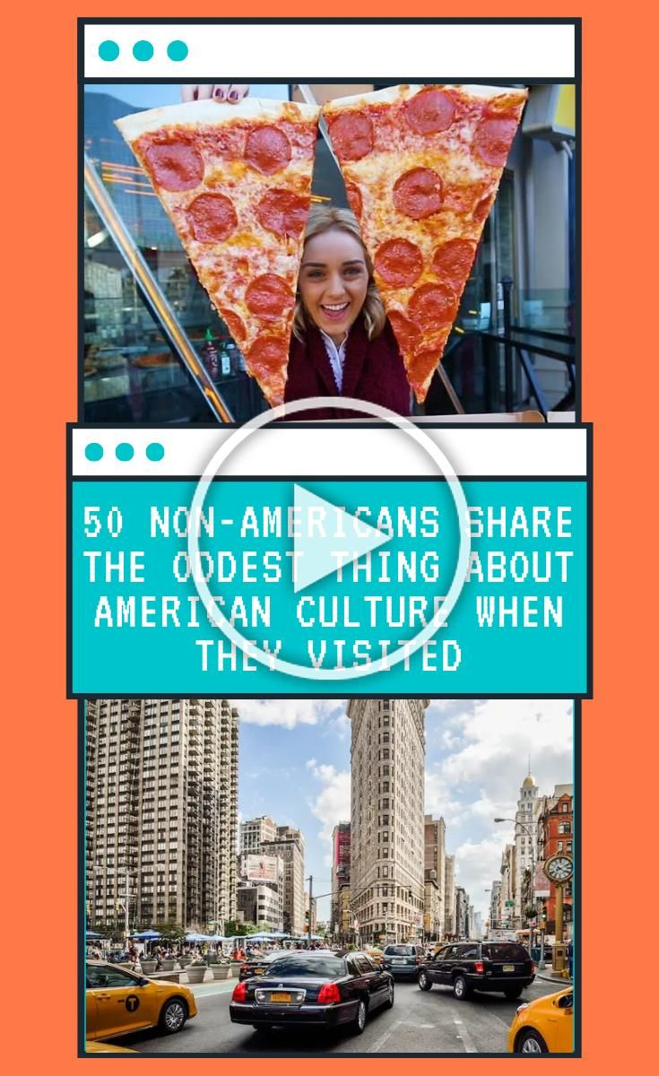 One of the best things about traveling is seeing how different cultures can be. Each country has its own customs, traditions, and ways of life. They can seem totally normal to the people who live there, but appear very odd to those who don't. This is even true in the good old US of A. 50 #Non-Americans #share #the #oddest #thing #about #American #culture #when #they #visited