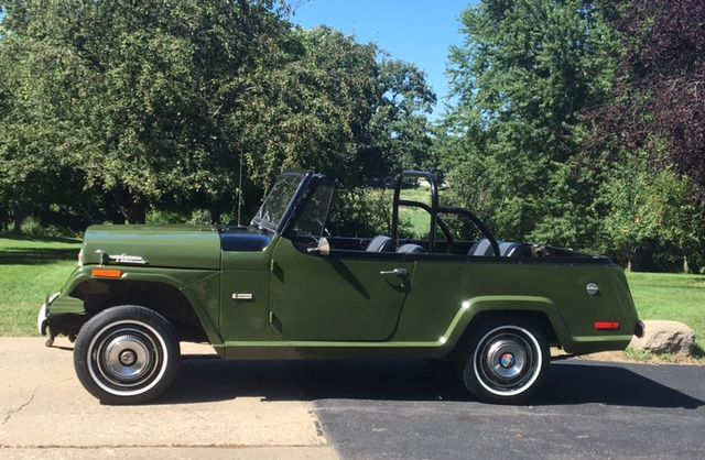 1971 Jeepster Commando - Photo submitted by Mike Failla.