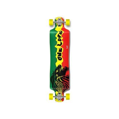 Complete Rasta 2 Lowrider Longboard