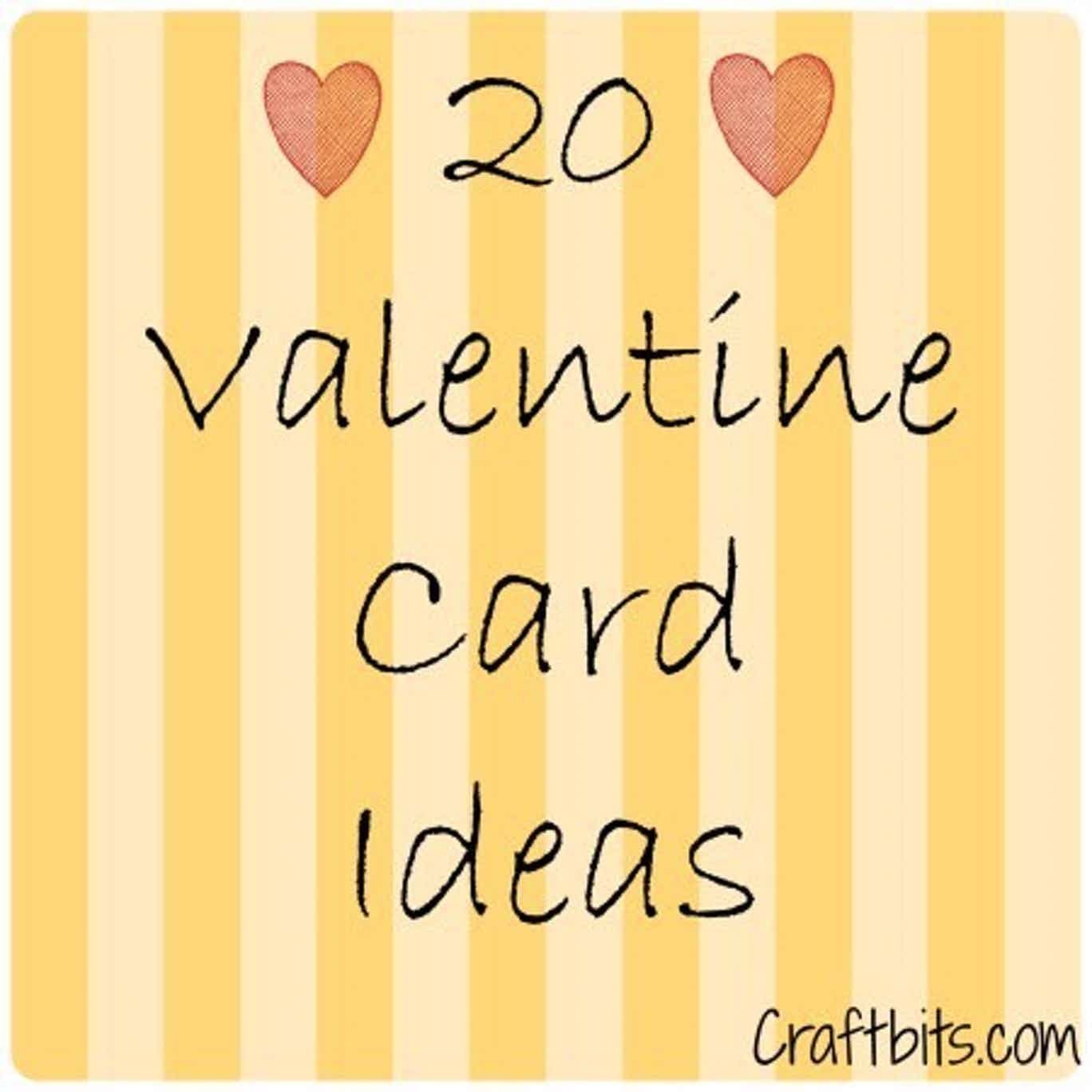 20 Valentine S Day Card Ideas For Kids Kidscraft