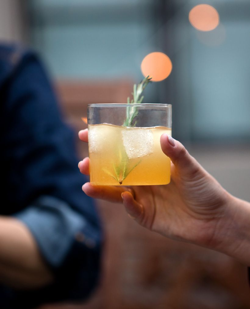 Campfire sour cocktail sour cocktail smoked cocktails