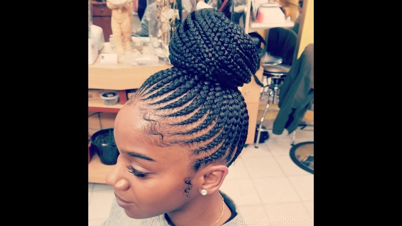 Exciting 60 Chic Medium Small Box Braids Styles Braiding Perfection With Additional Cornrows Weave Hairstyles