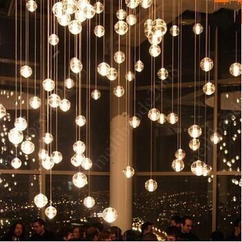 Bocci led crystal glass ball pendant lamp meteor rain ceiling light bocci led crystal glass ball pendant lamp meteor rain ceiling light 3 5 7 14 26 aloadofball Gallery