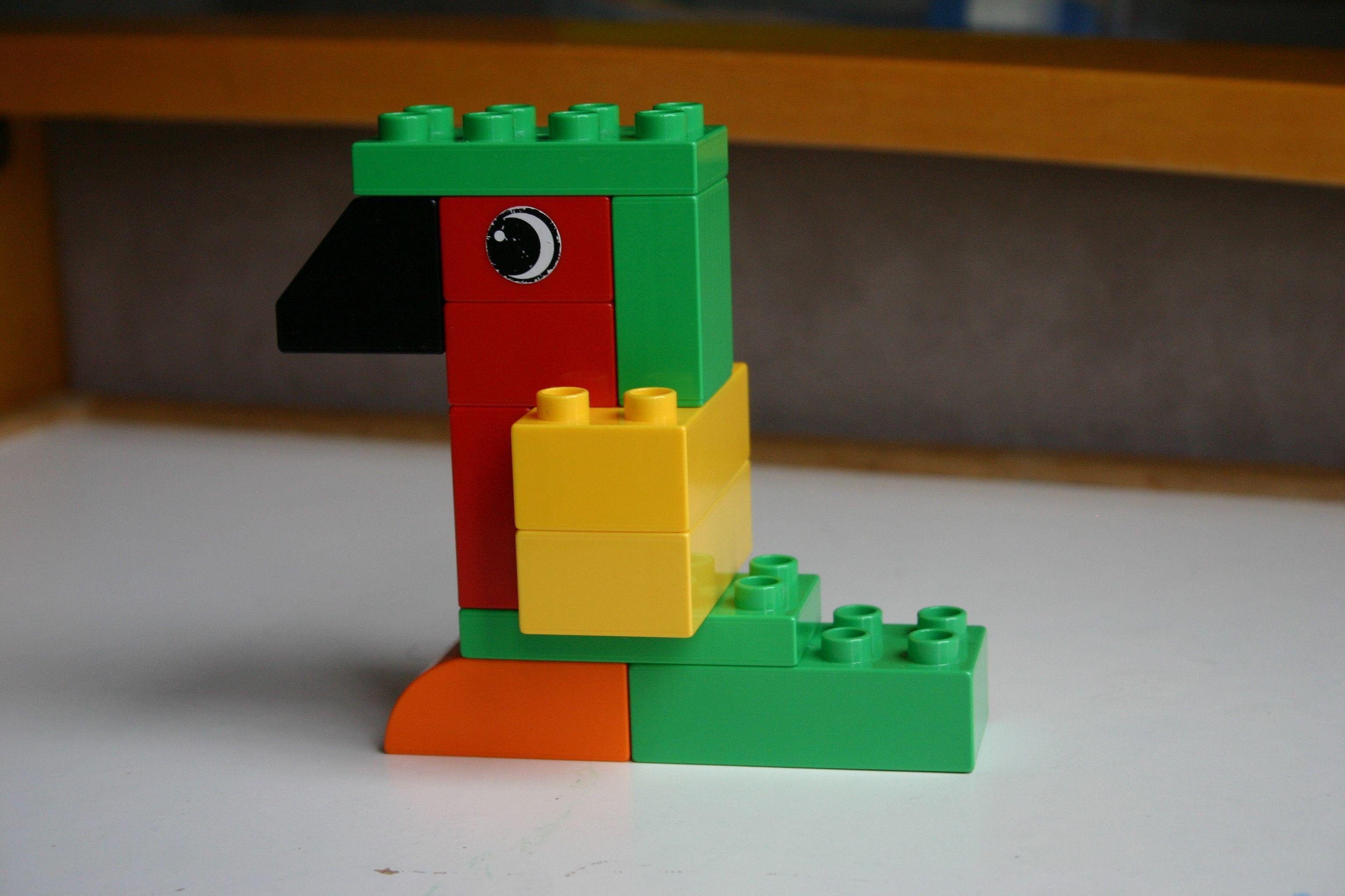 Duplo Block Parrot