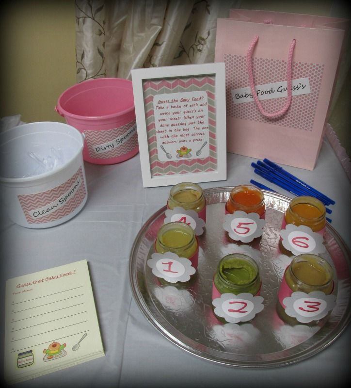 Baby Girl Baby Shower Decorations, Invitations, Etc