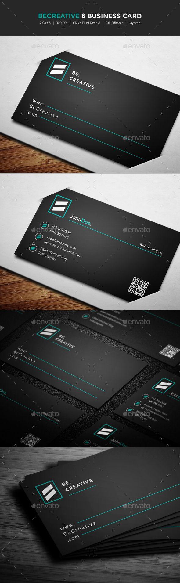 Becreative 6 business card reheart Choice Image