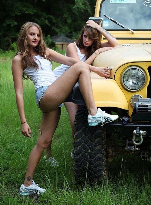 auto girls nackt