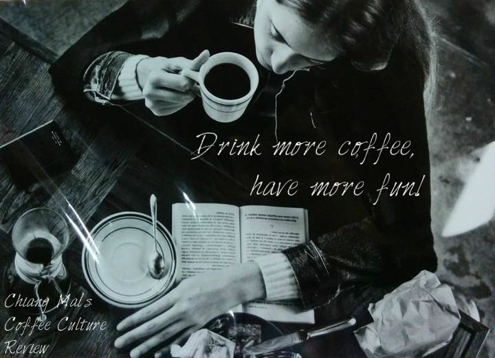 Drink more coffee, have more fun!