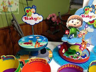 Decoraciones infantiles baby tv ideas cumplea os - Decoraciones para cumpleanos infantiles ...