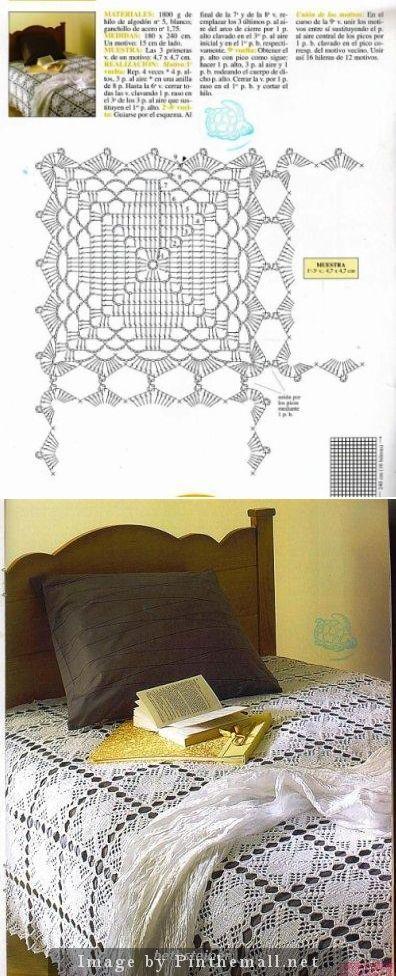 Extranet Crochet Bedspreads Free Pattern Httpswww