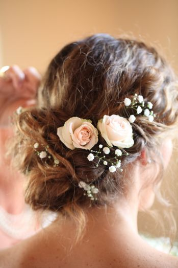 acconciatura sposa raccolta morbida