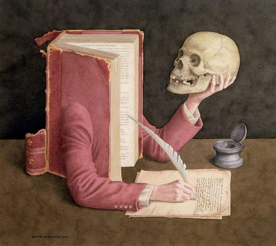 Jonathan Wolstenholme 1950 - British Surrealist painter