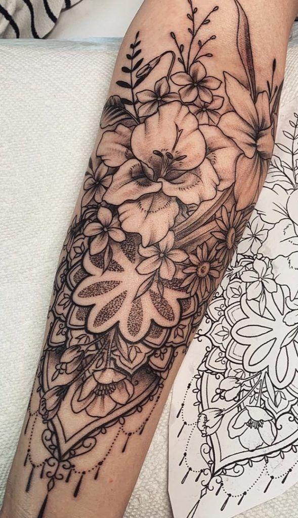 75 Fotos de tatuagens femininas no braço Fotos e