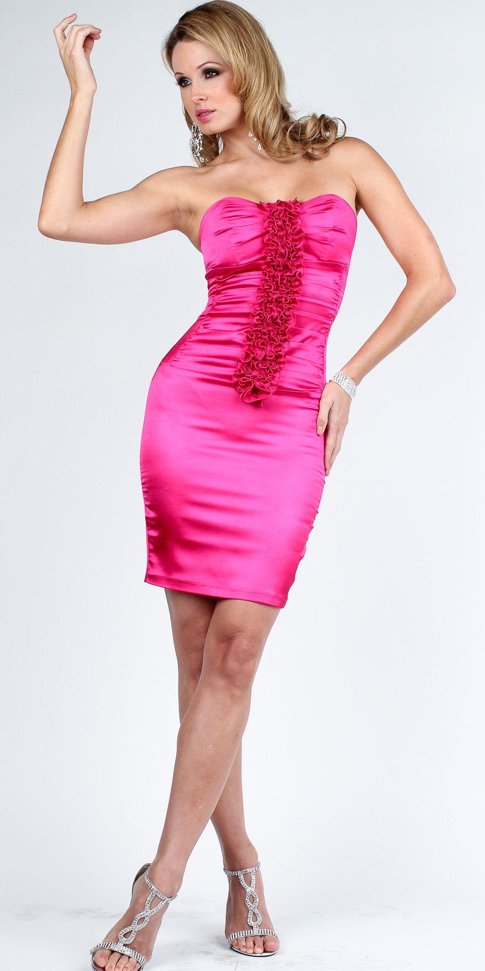 Hot pink bridesmaid dress weddings pinterest hot pink hot pink bridesmaid dress ombrellifo Gallery