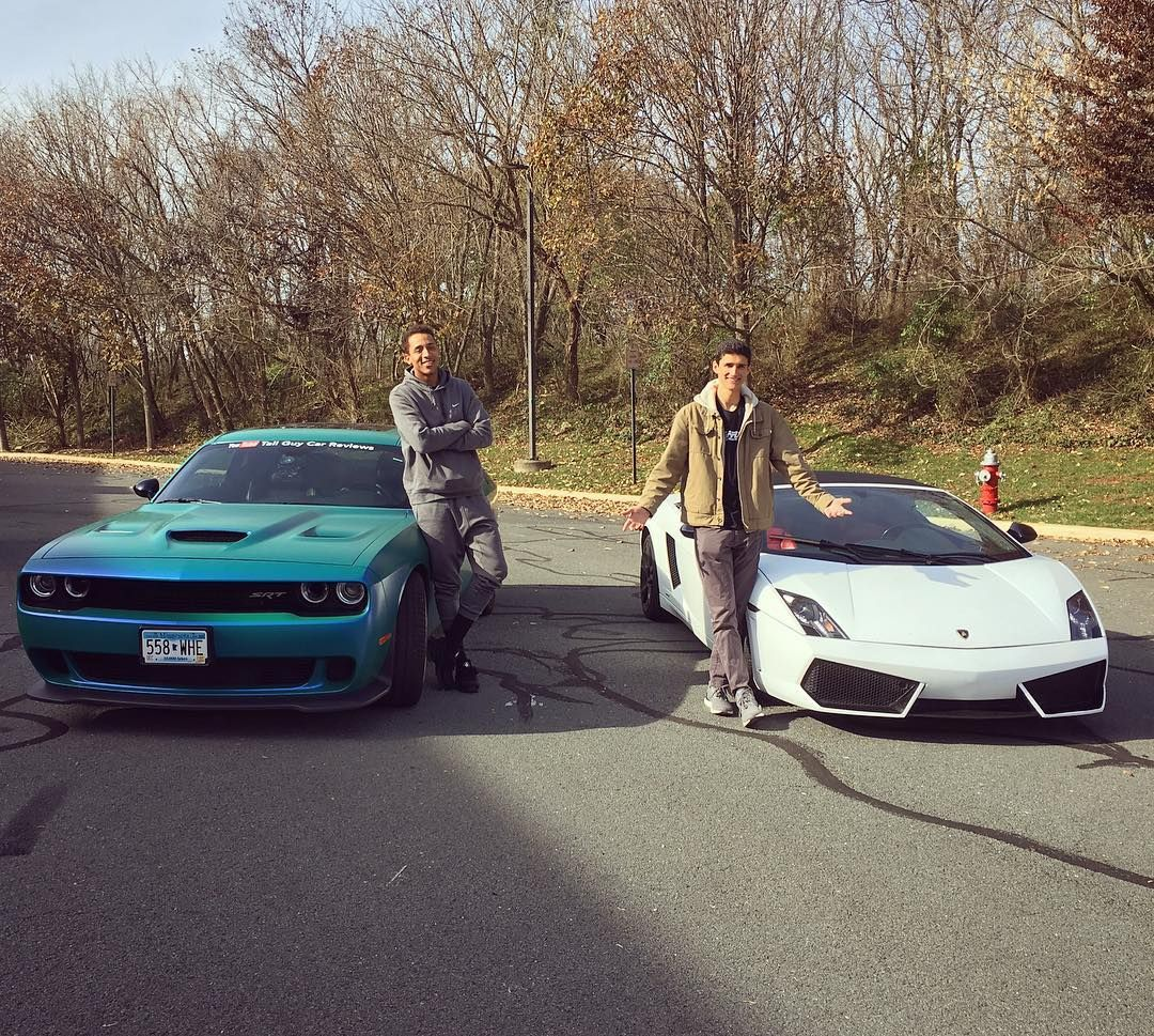 Two Tall Guys Two Fast Cars One Epic Day Video With - Sports cars for tall guys