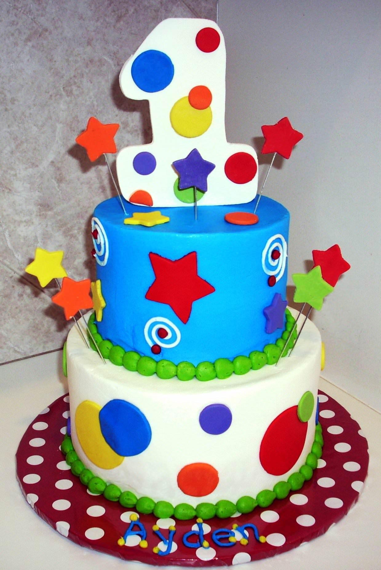 1st Year Birthday Cakes For Boys Birthday Cake Kids 1st Birthday Cakes First Birthday Cakes