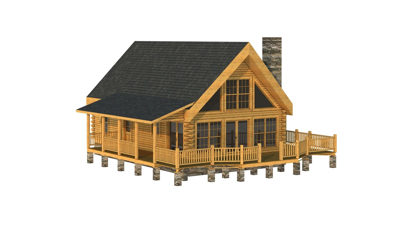 buncombe log home plan southland log homes https www