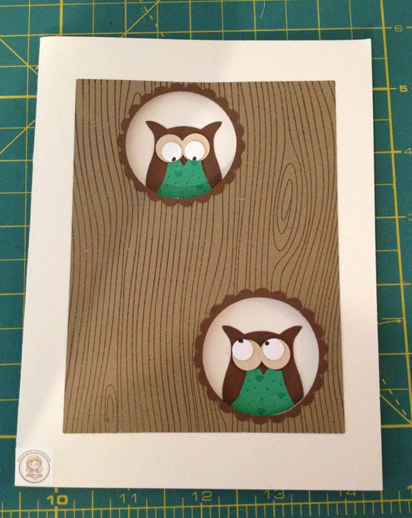 Card Making Ideas Owls Part - 26: Stampin Up Owl Punch Card U2013 Owl Always Be Your Friend