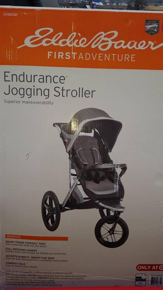 Ed Bauer Endurance Jogging Stroller Only $12.58 (Reg. $189.99 ...
