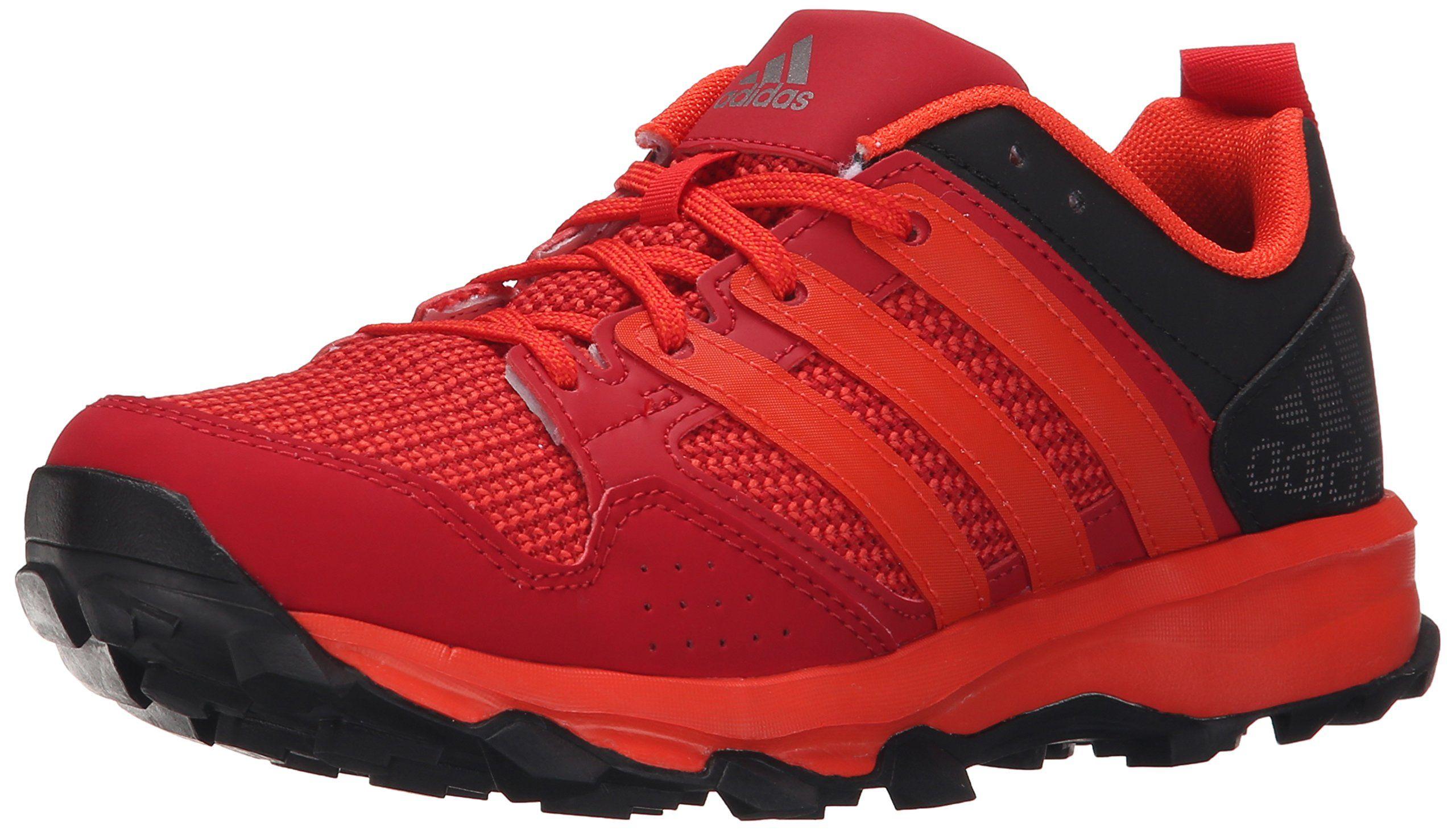 quality design b8a87 d7f2a adidas Performance Kanadia 7 TR K Trail Running Shoe ,Power  Red Orange Vivid Red,11.5 M US Little Kid. Air mesh upper for maximum  breathability.