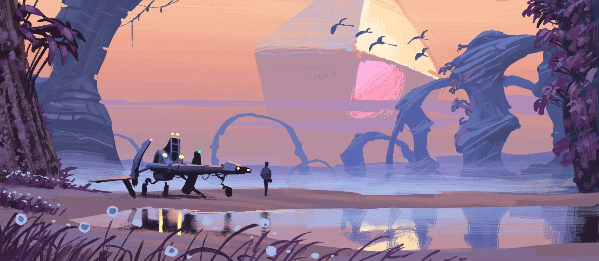 See The Artwork That Inspired No Man S Sky In 2020 Sky Art No