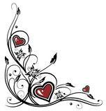 Vektor Herzen Liebe Tribal Blumen Tattoo Schulter Kunstproduktion Tattoos Kinder