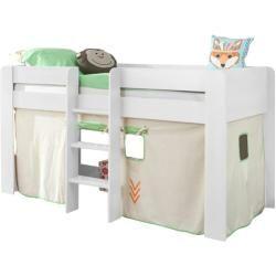 Halbhochbetten Halbhohe Betten Kinderbett Mit Rutsche Madchen