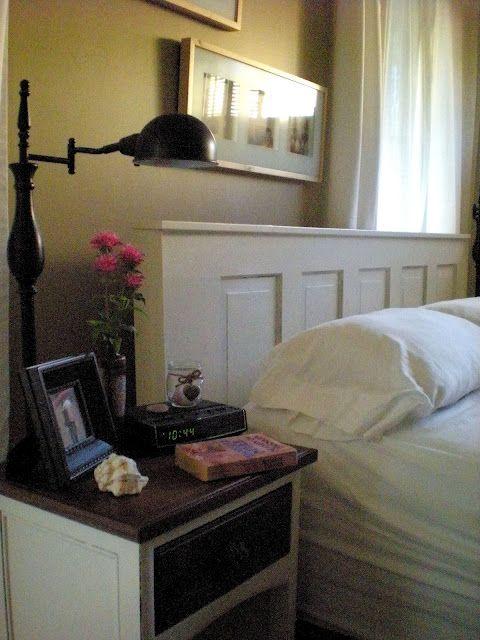 Trasformare una vecchia porta nella nuova testata del letto. #Tutorial #faidate #DIY